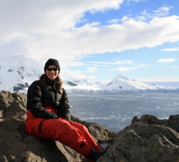 Hanging out in Paradise Harbor, Antarctica