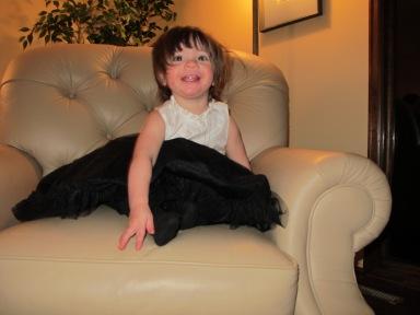 My sweet little niece