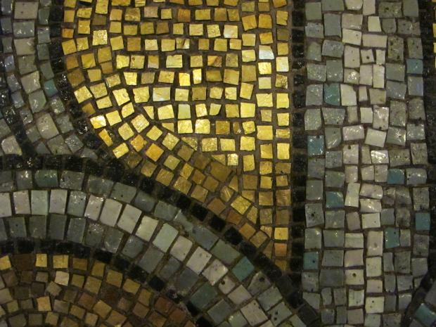 18 million of these tiles made the room shimmer