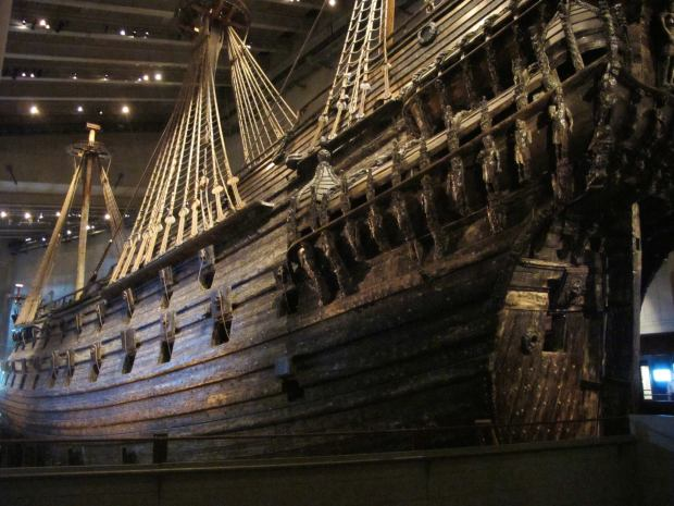 This ship sank in the first 20 minutes of its maiden voyage in 1628 and was perfectly preserved due to the temperature and salinity of the water