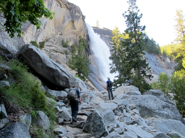 Nevada Falls from the Mist Trail