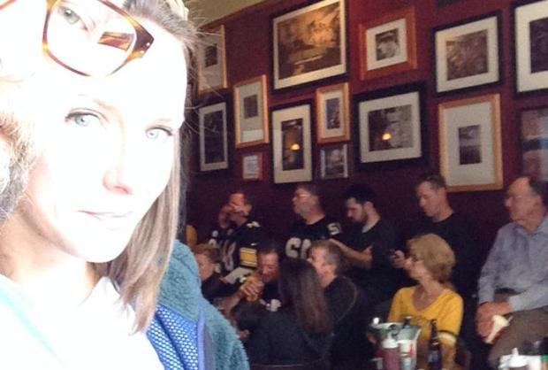 How we documented the Steelers Bar to share with Pittsburgh friends who have moved and were watching all over the country.